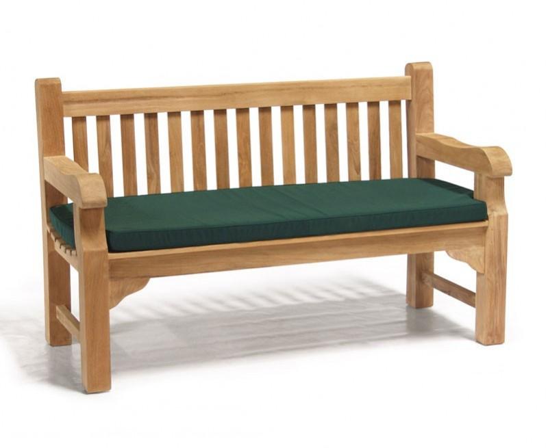 balmoral 5ft teak park street bench heavy duty garden