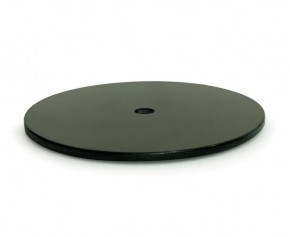 Black Granite Lazy Susan - 60cm - Granite
