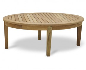 Aria Teak Oval Coffee Table - Garden Tables