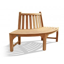 Teak Quarter Tree Seat Bench