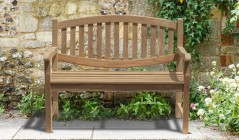 4ft Garden Benches | Teak Garden Seats | Teak 4 Foot Benches