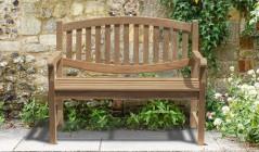 Ascot Benches | Teak Garden Benches