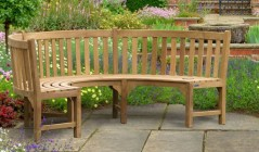 Henley Benches | Teak Garden Benches