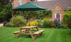 Wooden Picnic Tables | Teak Picnic Benches