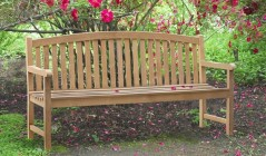 4 Seater Garden Benches | Outdoor Garden Benches | Teak Garden Seats