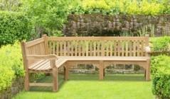 Corner Garden Benches
