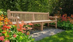 Wooden Park Benches | Public Seating Benches