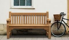 Teak Heavy Duty Garden Benches | Outdoor Victorian Benches