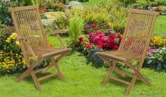 Ashdown Chairs | Teak Garden Chairs