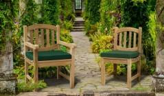 Ascot Chairs | Teak Garden Chairs