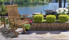 Brompton Chairs | Teak Garden Chairs
