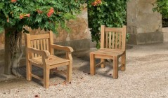 Balmoral Chairs | Teak Garden Chairs