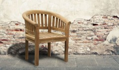Contemporary Chairs | Teak Garden Chairs