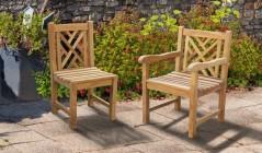 Princeton Chairs | Teak Garden Chairs