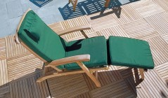 Steamer Chair Cushions | Sunbed Cushions | Sun Chair Cushions