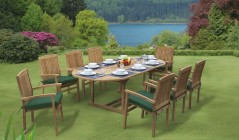 Santorini Dining Sets | Teak Dining Tables