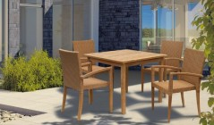 St Tropez Dining Sets | Teak Dining Tables