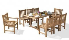 Windsor Dining Sets | Teak Dining Tables