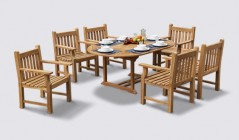 Taverners Dining Sets | Teak Dining Tables