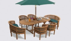 Wimbledon Dining Sets | Teak Dining Tables