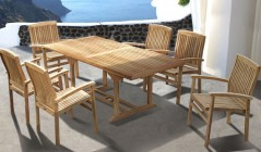 Canterbury Dining Sets | Teak Dining Tables