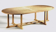 Oval Dining Tables | Oval Garden Table | Oval Extending Table