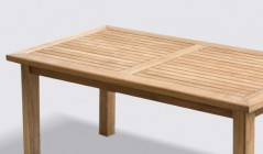 Medium Teak Garden Tables | Hardwood Garden Tables | Wooden Teak Outdoor Tables