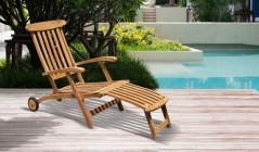 Folding Garden Deck Chairs | Reclining Sun Chairs | Fold Up Deck Chairs
