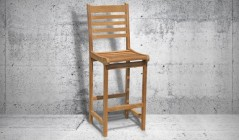 Bar Stools With Backs | Wooden Bar Chairs | High Bar Chairs