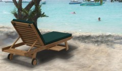 Garden Deck Chairs | Teak Sun Loungers | Teak Steamer Chairs