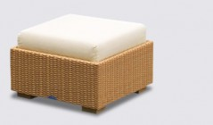 Rattan Footstools | Wicker Ottomans
