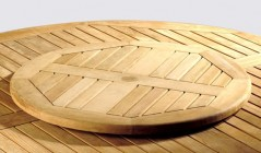 Lazy Susans | Teak Rotating Tray | Garden Accessories