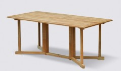 Garden Table for Six | 6 Seater Dining tables | Teak 6 Seat table