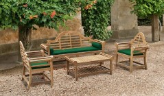 Coffee Table and Chairs   Coffee Table Set   Teak Occasional Table Sets