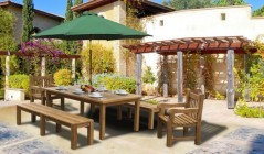 Patio Dining Sets | Wooden Patio Table and Chairs Sets