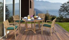 Stacking Chairs and Tables | Stackable Chairs and Tables | Wood Dining Set