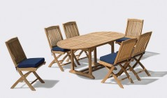 Wooden Side Chairs With Tables | Outdoor Occasional Chairs | Teak Side Chair Dining Sets