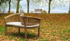 Teak Garden Love Seats | Tete a Tete Benches | Love Benches