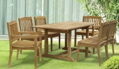 Patio Dining Sets | Teak Dining Table and Chairs