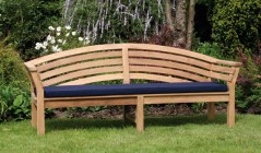 8 ft Bench Cushion | Outdoor Seat Pads | Garden Bench Pads