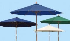 2.7m Parasols | Tilting Garden Parasols | Parasols with Crank Handles