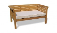 Teak Garden Day Beds | Teak Outdoor Day Beds