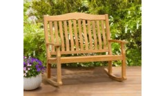 Teak Rocking Benches | Garden Rocking Benches | Outdoor Rocking Bench