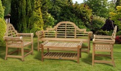 Lutyens-Style Coffee Table Sets | Lutyens-Style Benches & Chairs Sets