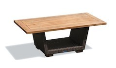 Outdoor Coffee Table with Storage | Garden Coffee Table with Storage