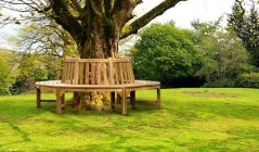 Round Tree Benches | Wooden Tree Seats | Circular Tree Seats