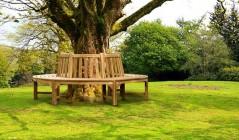 Round Tree Benches | Wooden Tree Seats | Circular Tree Seats
