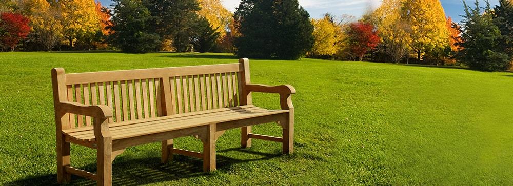Teak Park Benches