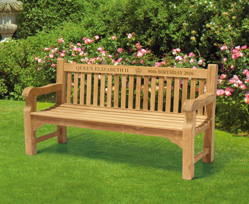 Teak Memorial Benches Commemorative Benches Engraved Benches