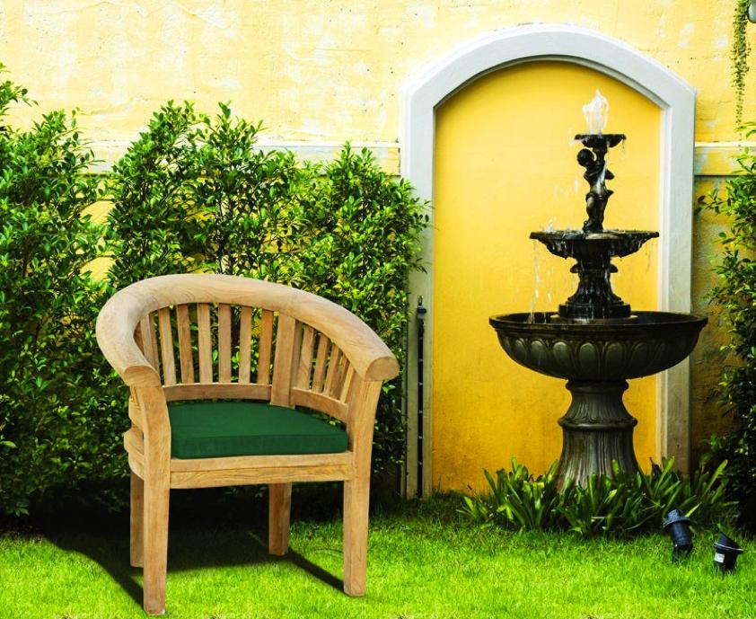 Teak banana chair bespoke design